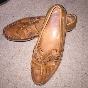 Johnston & Murphy Brown Loafers Flats 10 M